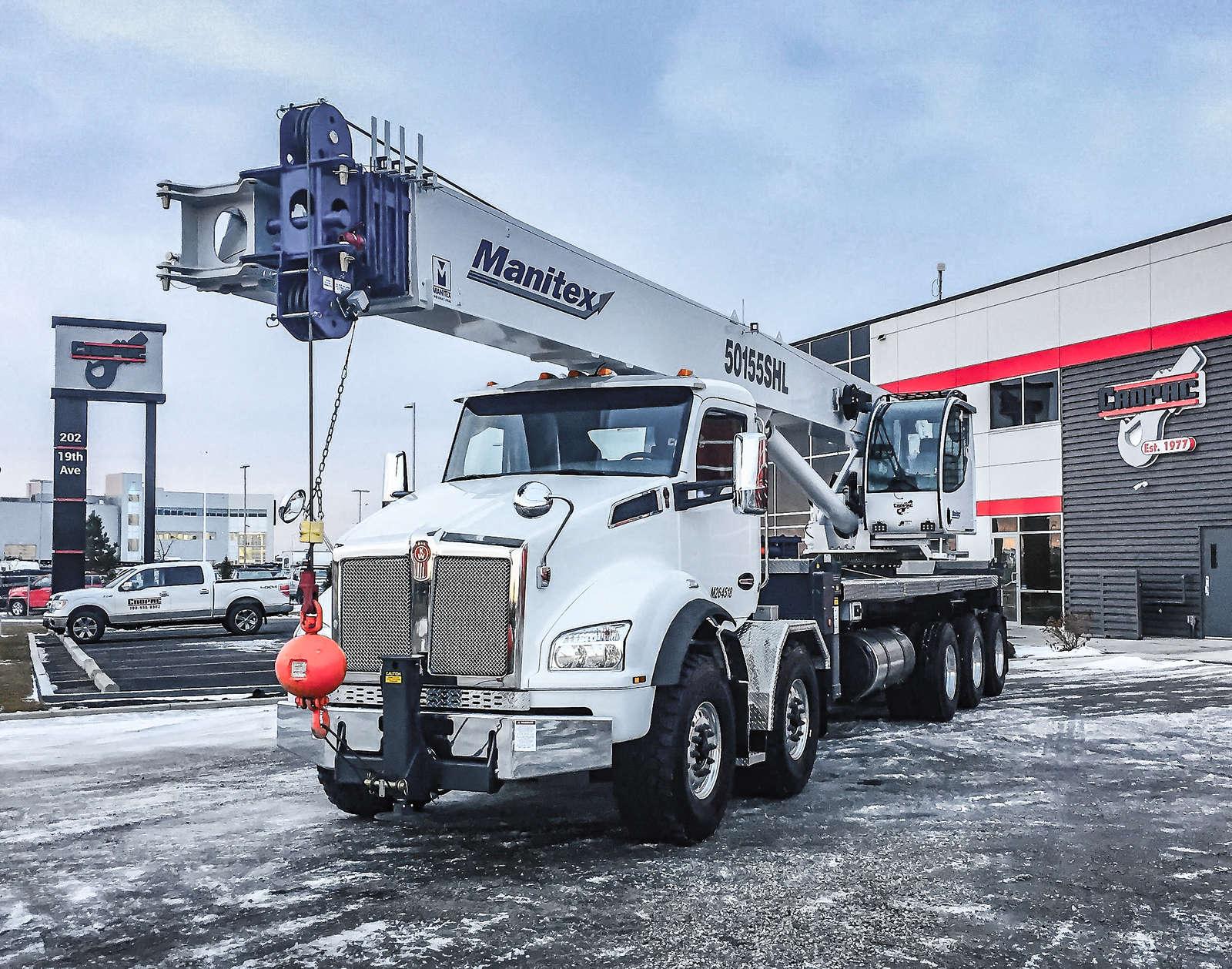 Kenworth T880 boom truck manitex